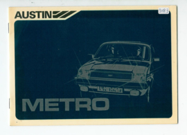 Austin Metro  Instructieboekje 80 #2 Nederlands