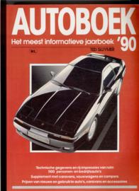 Autoboek   Jaarboek 1990 #5 Nederlands