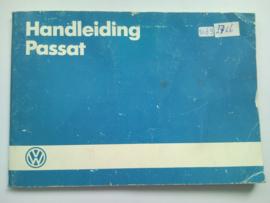 Volkswagen Passat  Instructieboekje 84 #2 Nederlands