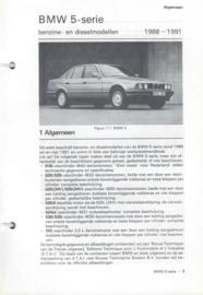 BMW 5 serie  Vraagbaak ATH 88-91 #1 Nederlands