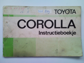 Toyota Corolla  Instructieboekje 75 #1 Nederlands