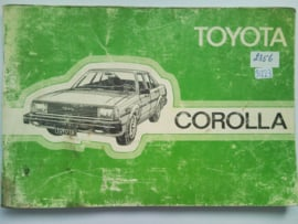 Toyota Corolla  Instructieboekje 82 #4 Nederlands