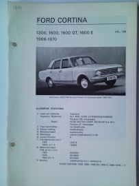 Ford Cortina  Vraagbaak ATH 68-70 #2 Nederlands