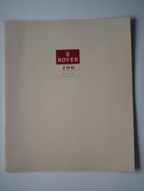Rover 200  Brochure 90 #1 Nederlands