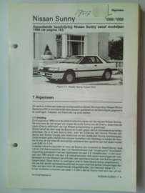 Nissan Sunny  Vraagbaak ATH 86 #1 Nederlands