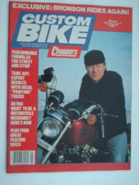 Costum Bike Choppers Tijdschrift 1982 Mei #1 Engels