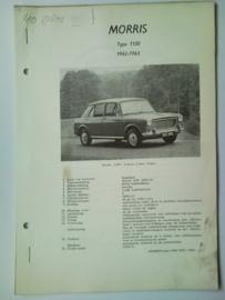Morris 1100  Vraagbaak ATH 62-63 #3 Nederlands