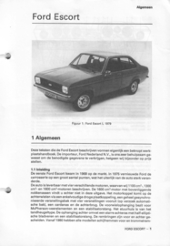 Ford Escort  Vraagbaak ATH 78-80 #2 Nederlands