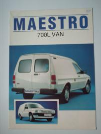 Austin Maestro 700L VAN  Brochure 83 #2 Nederlands