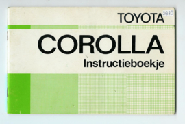 Toyota Corolla  Instructieboekje 75 #2 Nederlands
