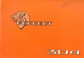 Peugeot 304  Instructieboekje 84 #1 Nederlands Duits Frans Italiaans