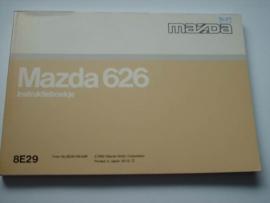 Mazda 626  Instructieboekje 92 #1 Nederlands