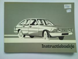 Chrysler Alpine  Instructieboekje 76 #1 Nederlands