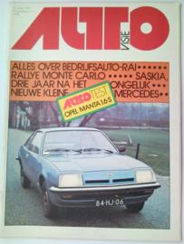 1976 Autovisie NR 03 tijdschrift