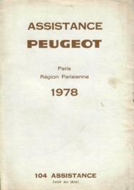 Peugeot   Dealerlijst 78 #2 Frans