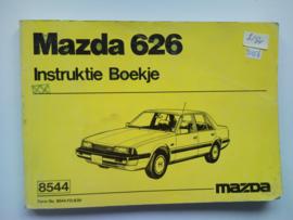 Mazda 626  Instructieboekje 83 #1 Nederlands Frans