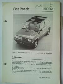 Fiat Panda  Vraagbaak ATH 80-84 #1 Nederlands