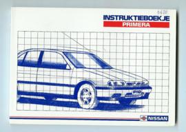Nissan Primera  Instructieboekje 91 #2 Nederlands