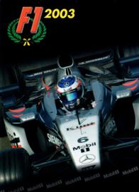 Formule 1 Exxon Mobil   Jaarboek 2003 #1 Engels