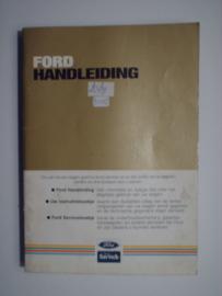 Ford Alle Modellen  Instructieboekje 84 #1 Nederlands
