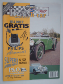 Britich Car Magazine  1997 NR 11 Tijdschrift  #1 Nederlands