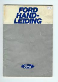 Ford Alle Modellen  Instructieboekje 78 #4 Nederlands