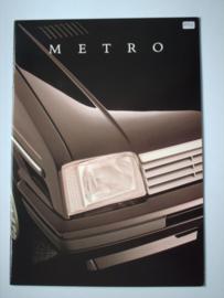 Austin Metro  Brochure 86 #1 Nederlands