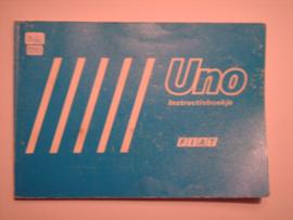 Fiat Uno  Instructieboekje 85 #1 Nederlands