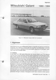 Mitsubishi Galant  Vraagbaak ATH 80-84 #2 Nederlands