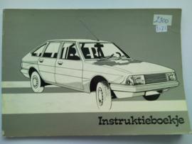 Chrysler Alpine  Instructieboekje 76 #2 Nederlands