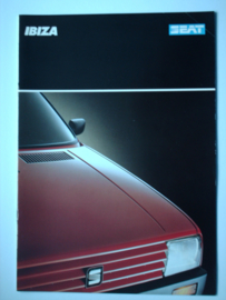 Seat Ibiza  Brochure 88 #4 Nederlands