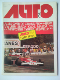 Autovisie Tijdschrift 1976 NR 18 #1 Nederlands