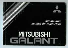 Mitsubishi Galant  Instructieboekje 83 #1 Nederlands Frans