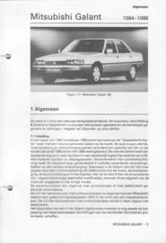 Mitsubishi Galant  Vraagbaak ATH 84-88 #2 Nederlands