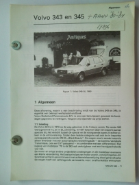 Volvo 343 345  Vraagbaak ATH 76-84 #1 Nederlands