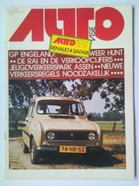 Autovisie Tijdschrift 1976 NR 16 #1 Nederlands