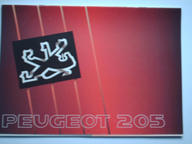 Peugeot 205  Brochure 90 #1 Nederlands