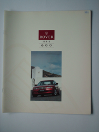 Rover 600  Brochure 94 #4 Nederlands
