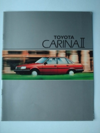 Toyota Carina II  Brochure 86 #1 Nederlands