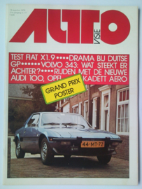 Autovisie Tijdschrift 1976 NR 17 #1 Nederlands