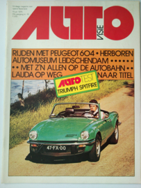 Autovisie   Tijdschrift 1975 NR 15 #1 Nederlands