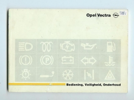 Opel Vectra A  Instructieboekje 89 #1 Nederlands