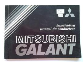 Mitsubishi Galant  Instructieboekje 81 #1 Nederlands Frans