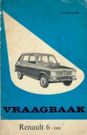 Renault 6  Vraagbaak 69 #3 Nederlands