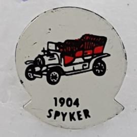 SP0315 Speldje 1904 Spyker [rood]