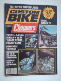 Costum Bike Choppers Tijdschrift 1981 December #1 Engels