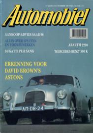 Automobiel   11e jaargang NR 120 Tijdschrift 90 #1 Nederlands