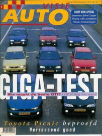 Autovisie   Tijdschrift 1997 NR 01 #1 Nederlands