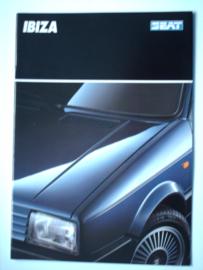 Seat Ibiza  Brochure 90 #1 Nederlands