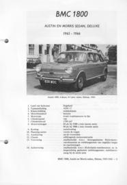 BMC 1800 Ado 17 Vraagbaak ATH 65-66 #4 Nederlands
